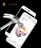 Защитное стекло 5D Future Full Glue для Xiaomi Redmi 4X white, фото 2