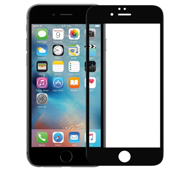 Защитное стекло 5D Future Full Glue для iPhone 6/6s black