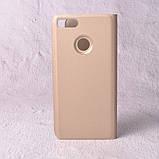 Чехол-книжка Clear Mirror для Xiaomi Mi A1 (Mi 5x) gold, фото 2