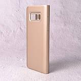 Чехол-книжка Clear Mirror для Samsung Galaxy S8 (G950) gold, фото 3
