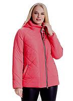Ультрамодная укороченная женская куртка на весну-осень