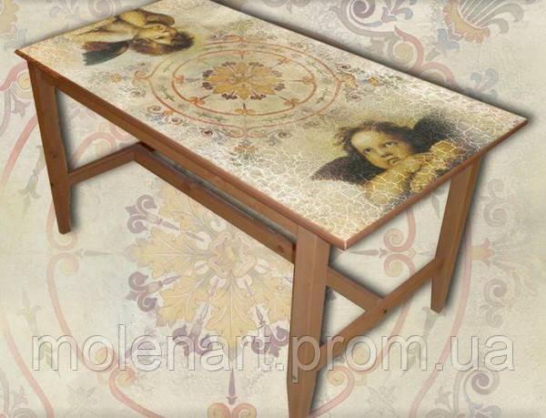 Оформление фресками мебели