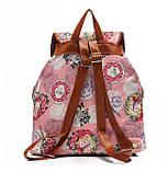 Рюкзак женский городской Хиппи Paris Rose (Розовый), фото 2