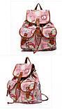 Рюкзак женский городской Хиппи Paris Rose (Розовый), фото 3