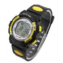 Дитячі годинники S-Sport Timex yellow (жовтий)