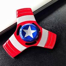 Спиннер вертушка Fidget Toy Hero Capitan America