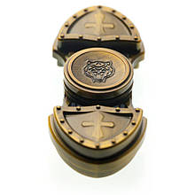 Спиннер вертушка Fidget Toy Tampler dark gold