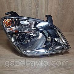 Фара передняя Газель NEXT, правая, с лампами BOSCH, Оригинал (г.Рязань)