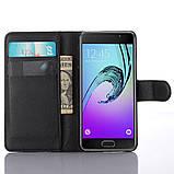 Чехол-книжка Bookmark для Samsung Galaxy A5 2016/A510 black, фото 4
