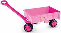 Детская игрушка-тележка для девочек Wader 10958
