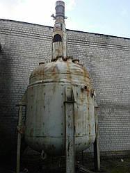Реактор СЭРН эмалированный 10 м куб б/у