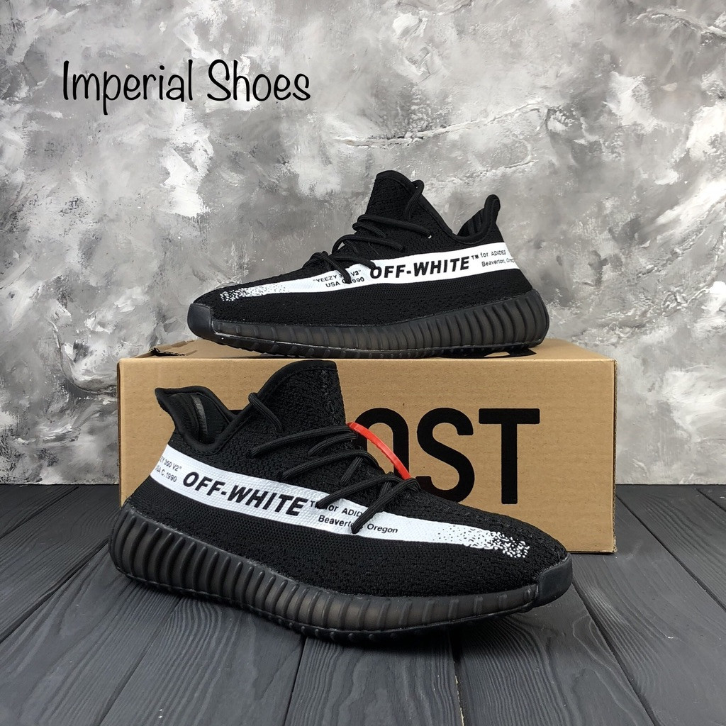 7ede6814 Кроссовки Adidas Yeezy Boost 350 x Off-White Black - Интернет-Магазин  IMPERIAL STORE
