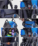 Рюкзак походный туристический Outland 80 L black, фото 5