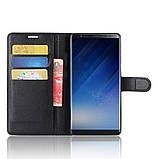 Чехол-книжка Bookmark для Samsung Galaxy Note 8/N950 black, фото 5