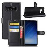Чехол-книжка Bookmark для Samsung Galaxy Note 8/N950 black, фото 6
