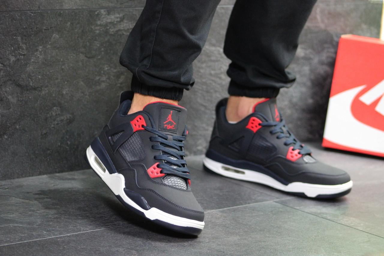 d101c4a5f014e9 Чоловічі кросівки Nike Air Jordan Flight темно сині з білим ...