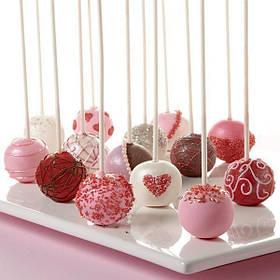 Кейк Попсы на День Валентина