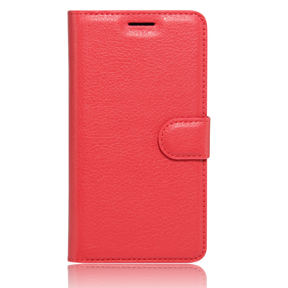 Чехол-книжка Bookmark для Lenovo K6 red