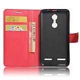 Чехол-книжка Bookmark для Lenovo K6 red, фото 4