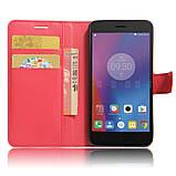 Чехол-книжка Bookmark для Lenovo K6 red, фото 5