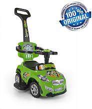 Машинка-каталка 3в1 Happy ТМ Milly Mally (Польша), зеленый