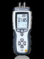 Дифманометр/швидкостемір/витратомір з трубкою Піто CEM DT-8920