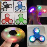 Спиннер светящийся Fidget Toy Spectre black, фото 3