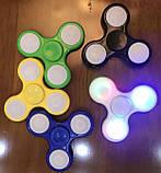 Спиннер светящийся Fidget Toy Spectre black, фото 5
