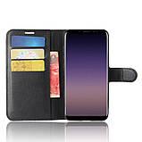 Чехол-книжка Bookmark для Samsung Galaxy A8 Plus 2018/A730 black, фото 5