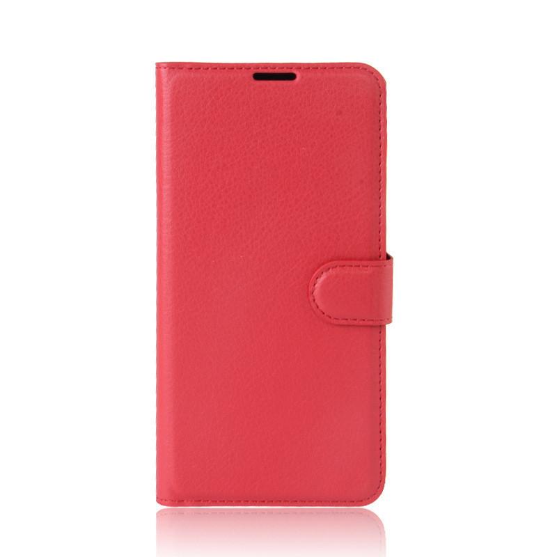 Чехол-книжка Bookmark для Lenovo K6 Note red