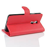 Чехол-книжка Bookmark для Lenovo K6 Note red, фото 3