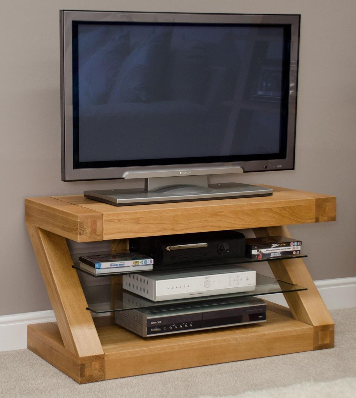 Тумба под телевизор из дерева 022