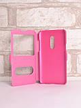 Чехол-книжка Holey для Meizu 15 pink, фото 3
