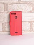 Чохол-книжка Bookmark для Xiaomi Redmi 6 red, фото 2
