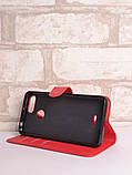 Чохол-книжка Bookmark для Xiaomi Redmi 6 red, фото 3