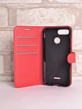 Чохол-книжка Bookmark для Xiaomi Redmi 6 red, фото 4