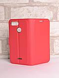 Чохол-книжка Bookmark для Xiaomi Redmi 6 red, фото 5