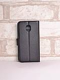 Чехол-книжка Bookmark для Samsung Galaxy J3 2018 black, фото 2