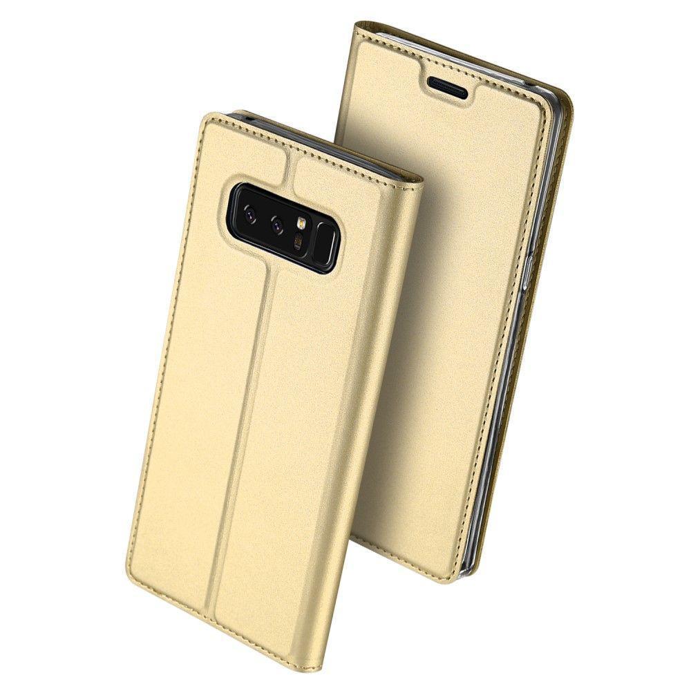 Чехол-книжка Dux Ducis для Samsung Galaxy Note 8/N950 gold