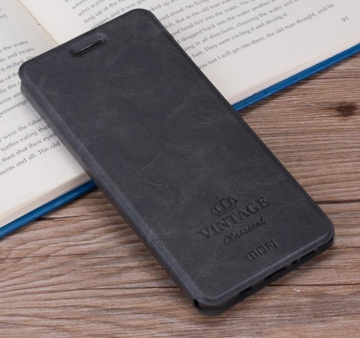 Чехол-книжка MOFI Vintage Series для Xiaomi Redmi 4A gray