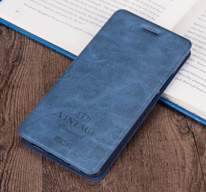 Чехол-книжка MOFI Vintage Series для Xiaomi Mi Max 2 blue