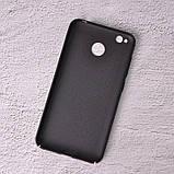 Чехол накладка Loco для Xiaomi Redmi 4X black, фото 2