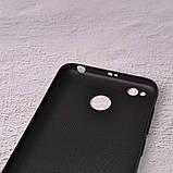 Чехол накладка Loco для Xiaomi Redmi 4X black, фото 3