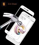 Защитное стекло 5D Future Full Glue для Xiaomi Redmi Note 4X white, фото 2