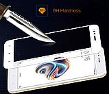 Защитное стекло 5D Future Full Glue для Xiaomi Redmi Note 4X white, фото 3