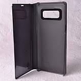 Чехол-книжка Clear Mirror для Samsung Galaxy Note 8 (N950) black, фото 5