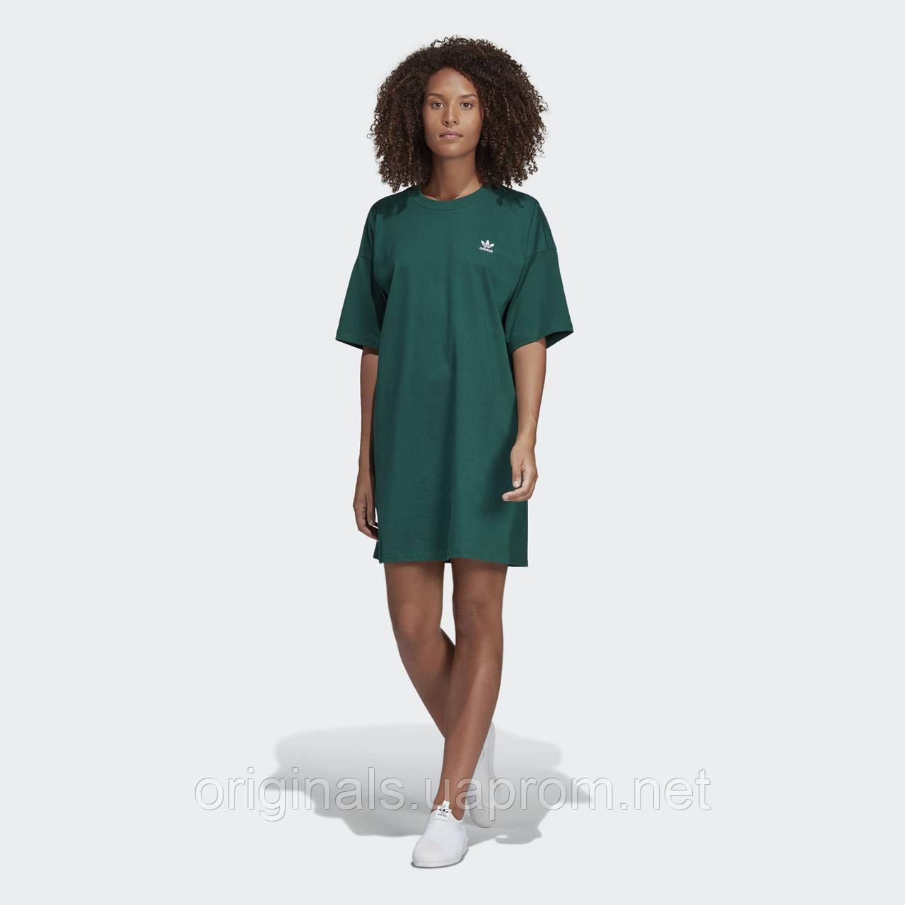 c897c9642f35b Женское платье Adidas Trefoil DV2604 - 2019 - интернет-магазин Originals -  Оригинальный Адидас,