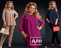 c2e62c91f6e Свободная блузка батал в категории костюмы женские в Украине ...