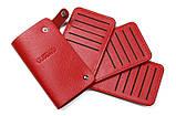 Кард-кейс кредитница Gubintu red, фото 2