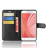 Чехол-книжка Bookmark для Xiaomi Redmi Note 5A Prime black, фото 5